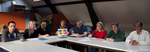 The 3rd meeting of the anti-war platform 'Peace for Ukraine  took place on 17 June 2014, in Antwerp, Belgium.